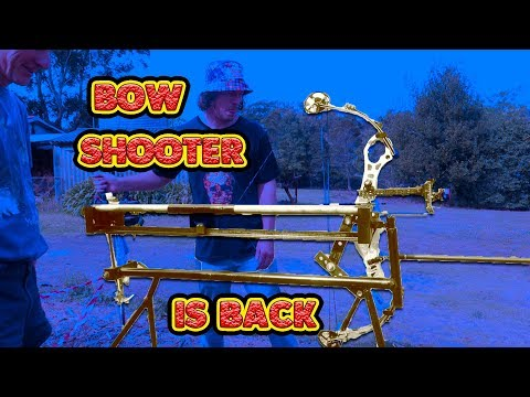 bow shooting machine group test hooter shooter