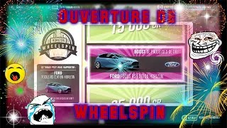 Forza Horizon 3 - Ouverture de wheelspin qui part en cacahuète !!!!!!
