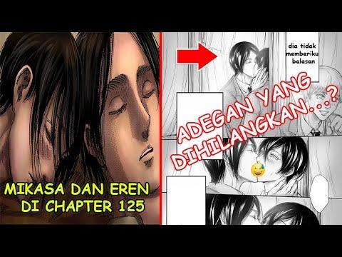 Inikah Yang Akan Terjadi Pada Chapter 125 Malam Dimana Eren Dan Mikasa Youtube