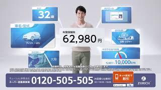 チューリッヒ保険のスーパー自動車保険:あなた専用自動車保険篇 30秒 松木里菜 動画 27