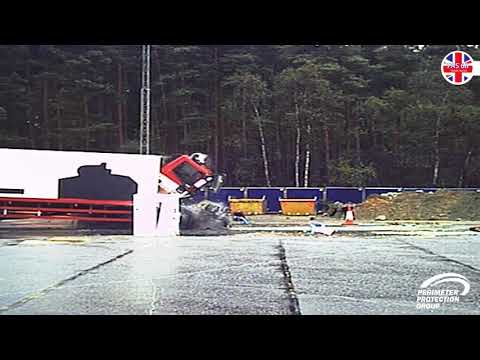 PAS 68 crash-test for PPG Barrier Lift System