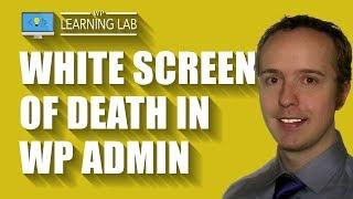 видео Белый экран WordPress