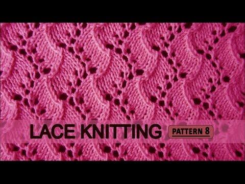 Traveling Vine | Lace Knitting Pattern #8