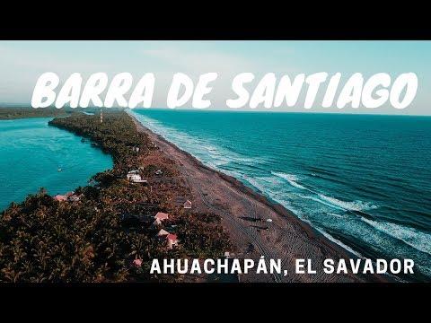 BARRA DE SANTIAGO,  AHUACHAPÁN, El SALVADOR/DRONE