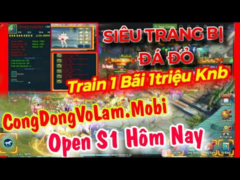 Vltk Mobile Lậu Open S1 Hôm Nay – Train 1 Bãi 1 Triệu Knb, Bán Full Đồ , Free Sét Bạch Kim