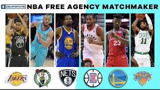 NBA Free Agency Matchmaker | 2019 NBA Free Agency | CBS Sports HQ