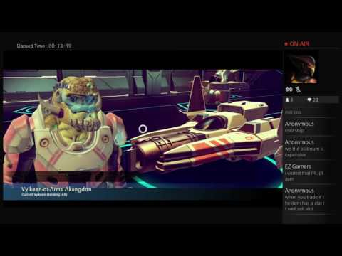 NO MAN'S SKY space exploration and grinding for a 12 million unit ship