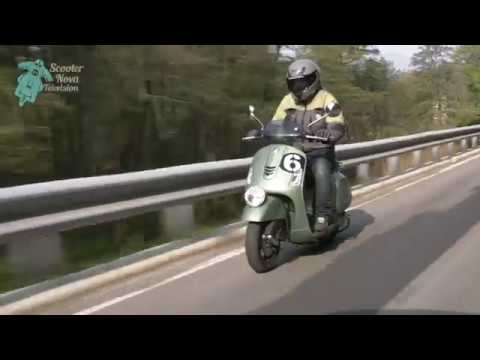 Vespa GTS  Sei Giorni  – Ride the -Day Trials route, Varese launch