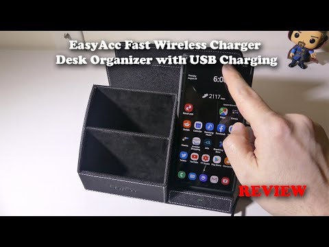 easyacc---fast-wireless-charger-desk-organizer-with-usb-charging-review