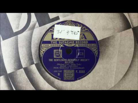 "Elsie Carlisle - ""The Gentleman Obviously Doesn't Believe"" (1935)"