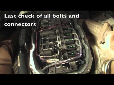 2004 Vw Touareg Valve Body Chest Replacement Youtube