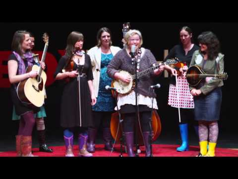 Music From The Flooded Community Of Lyons, Colorado: The Watergirls At TEDxMileHigh