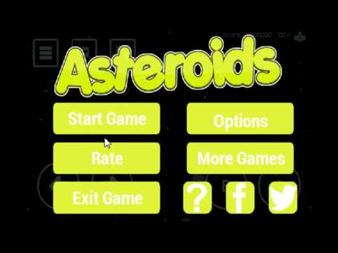 Asteroids Gameplay