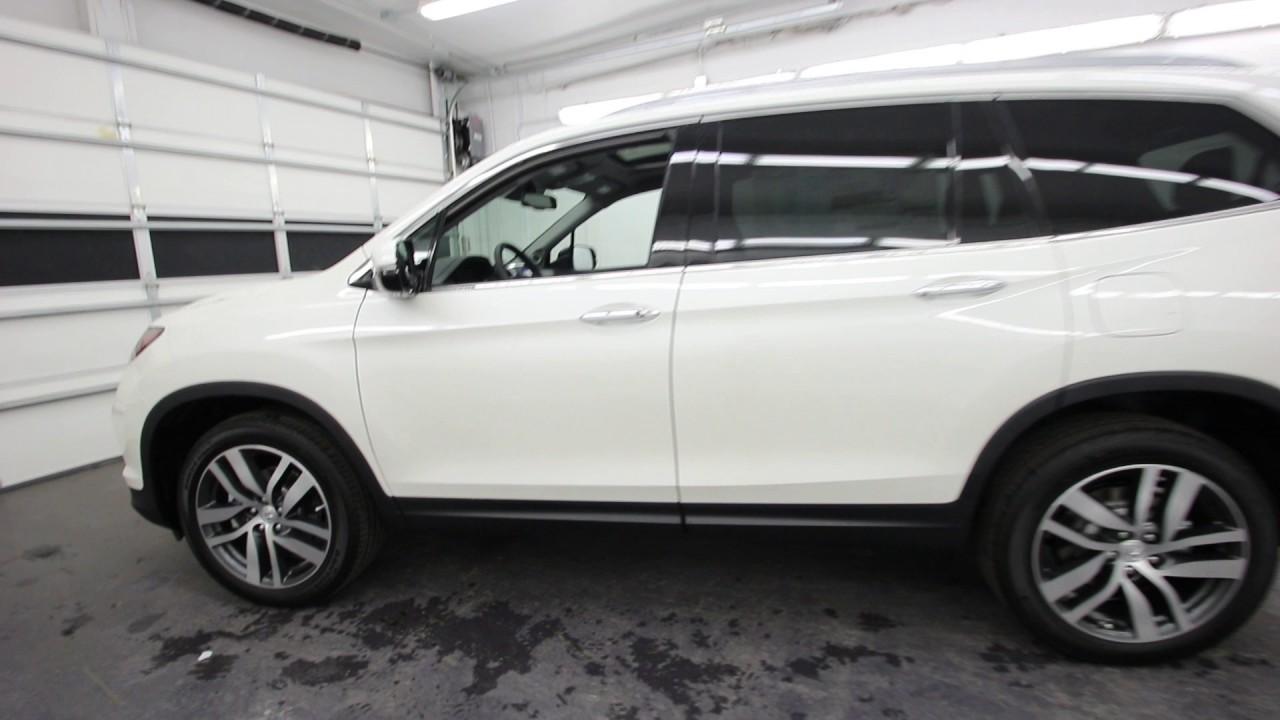 2017 Honda Pilot Touring Diamond White Pearl Hb023448 Seattle Burien On