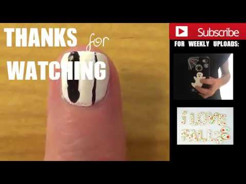 Diy Thin Brush For Nail Art Or Fine Details Youtube