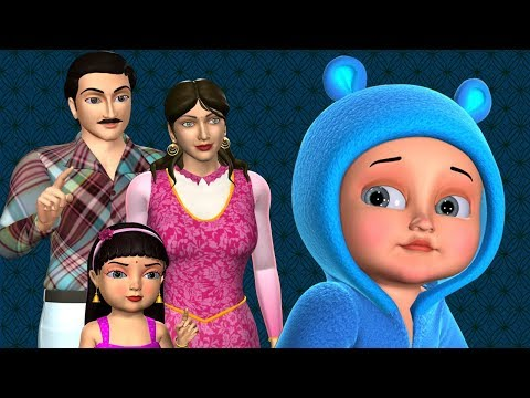 Johny Johny Yes Papa Family Version - 3D Animation Nursery Rhymes & Songs For Children