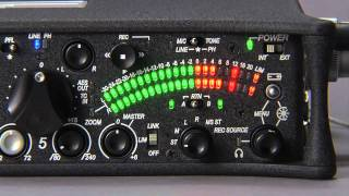 Sound Devices 552 Field Mixer Vista