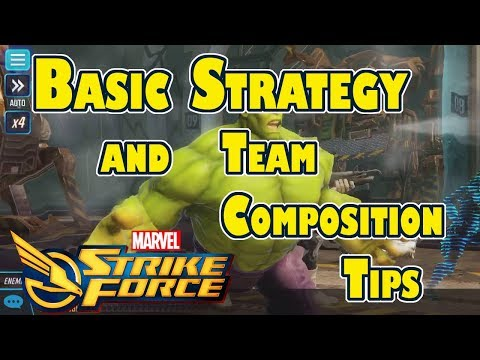 Marvel Strike Force - Basic Strategy and Team Composition Tips