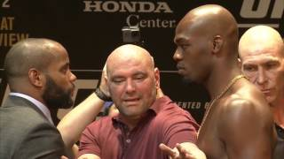 UFC 214: Cormier vs Jones 2 Press Conference Faceoff