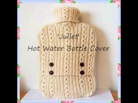 Juliet Hot Water Bottle Cover Cosy Case Chunky Yarn Knitting Pattern