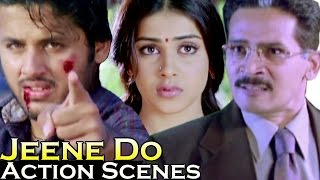 Best action scenes of nitin | jeene do (raam) | hindi action scenes | jukebox