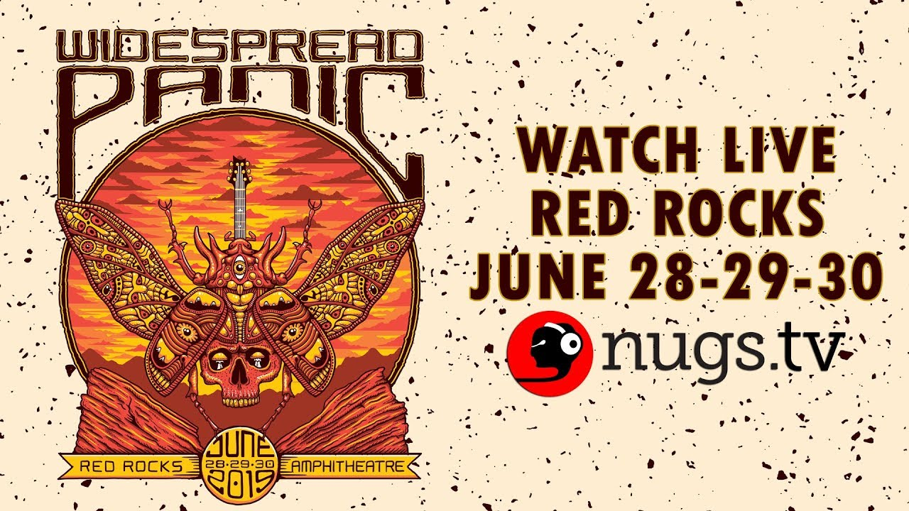 Widespread Panic Live at Red Rocks 6/28/19 Set I Opener