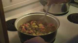 Let's Cook Hamburger Stew