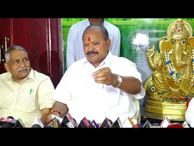 Shri Kanna Laxminarayana garu addressing Press at Guntur |15-10-2018