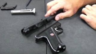 Best way to reassemble a Ruger Mark Series (All versions).