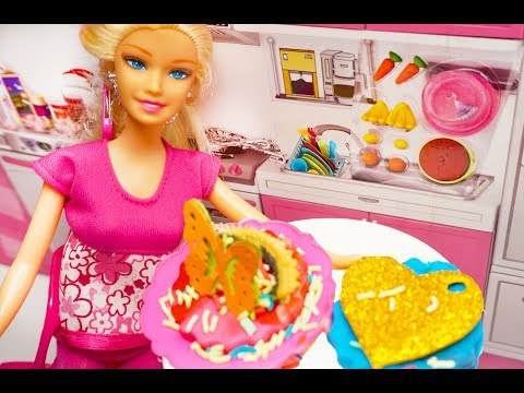 Barbie Masak Mainan Anak Masak Masakan Barbie Bahasa Indonesia Barbie Kitchen Toys Youtube