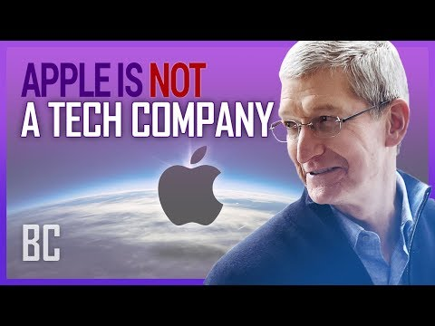Why Apple Is No Longer A Tech Company (And Doesn't Want To Be)