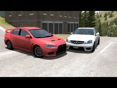 Realistic Car Crashes 10 - BeamNG Drive