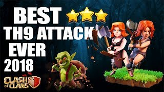 QueenWalk FALCON NEW VALKYRIE ATTACK - THE FALCON ALLOWS TH9's TO 3 STAR ANY BASE   Clash of Clans