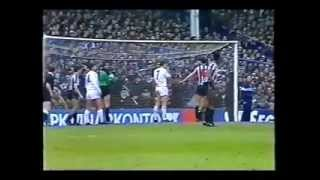 Tottenham Hotspur v Newcastle United, FA Cup 5th Round, February 21st 1987