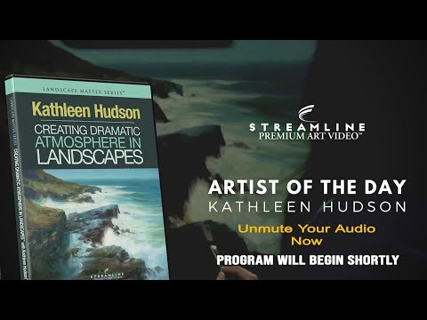 """Kathleen Hudson """"Creating Dramatic Atmosphere In Landscapes"""" **FREE LESSON VIEWING**"""