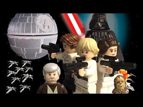 Лего звездные войны мультфильм эпизод 4