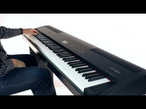 Roland FP 80 Digital Piano Tone Preview
