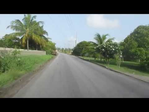 Barbados 2013 07, driving to Emarald Shopping Mall