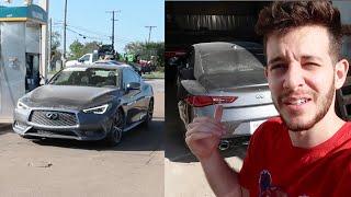 اخيرا كملت سيارتي الرمادية شوفوا تكنلوجيتها وجمالها!!