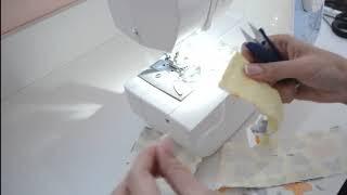 Видео урок пошива двусторонней повязки