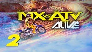 MX vs ATV Alive! - Gameplay/Walkthrough - Part 2 -  It