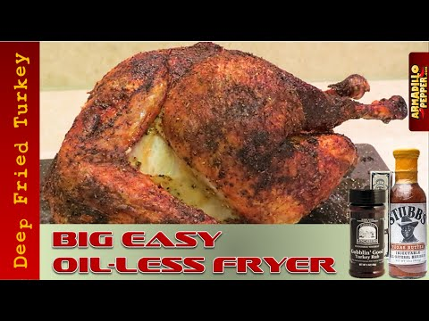 How To Fry A Turkey In Char-Broil's Big Easy Oil-less Fryer