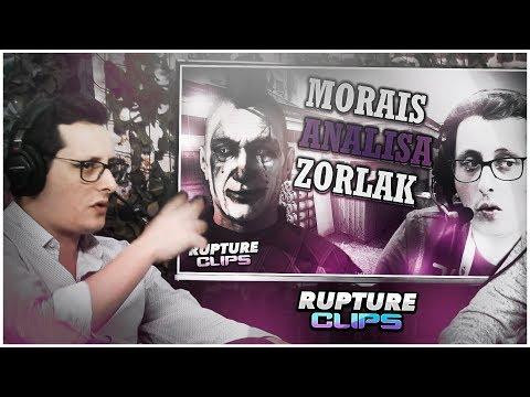 "ZORLAK REACT - ""MORAIS ANALISA DEMO DE ZORLAK"""