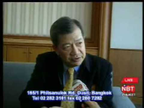 Interview Pakdee, Thai National Anti Corruption Commission meeting in Phuket