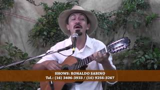 Ronaldo Sabino interpreta FIM DE ANO (Francisco Alves e David Nasser)