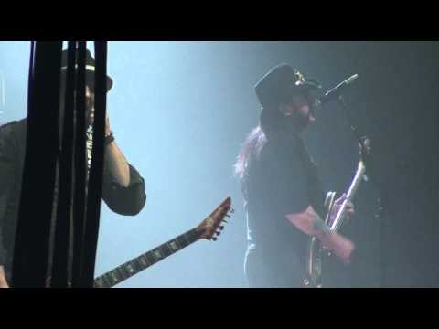 1080 HD Gigantour 2012 Motorhead Ace Of Spades, Glens Falls Civic Center NY February 1
