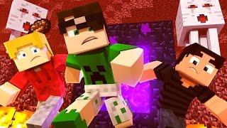 Minecraft: O NETHER MAIS DIFÍCIL DE TODOS! (Aprisionados) #4