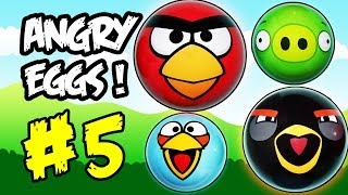 Angry birds movie #5 - more funny than flappy bird or star wars - Epic Surprise Eggs!!! #angrybirds