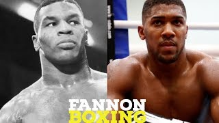 BOXING NEWS: MIKE TYSON SAYS HE WOULD BEAT ANTHONY JOSHUA