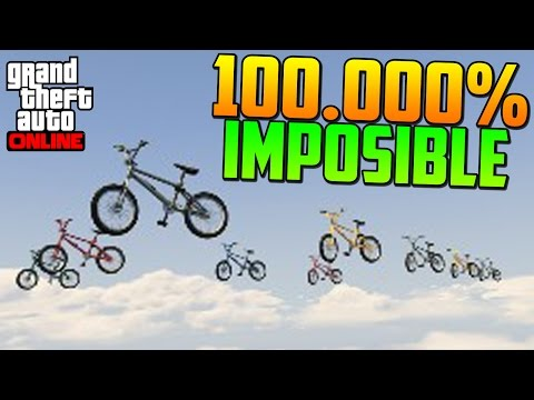 ¡¡100.000% IMPOSIBLE!! ¡¡NUEVA SERIE!! - Gameplay GTA 5 Online Funny Moments (Carrera GTA V PS4)
